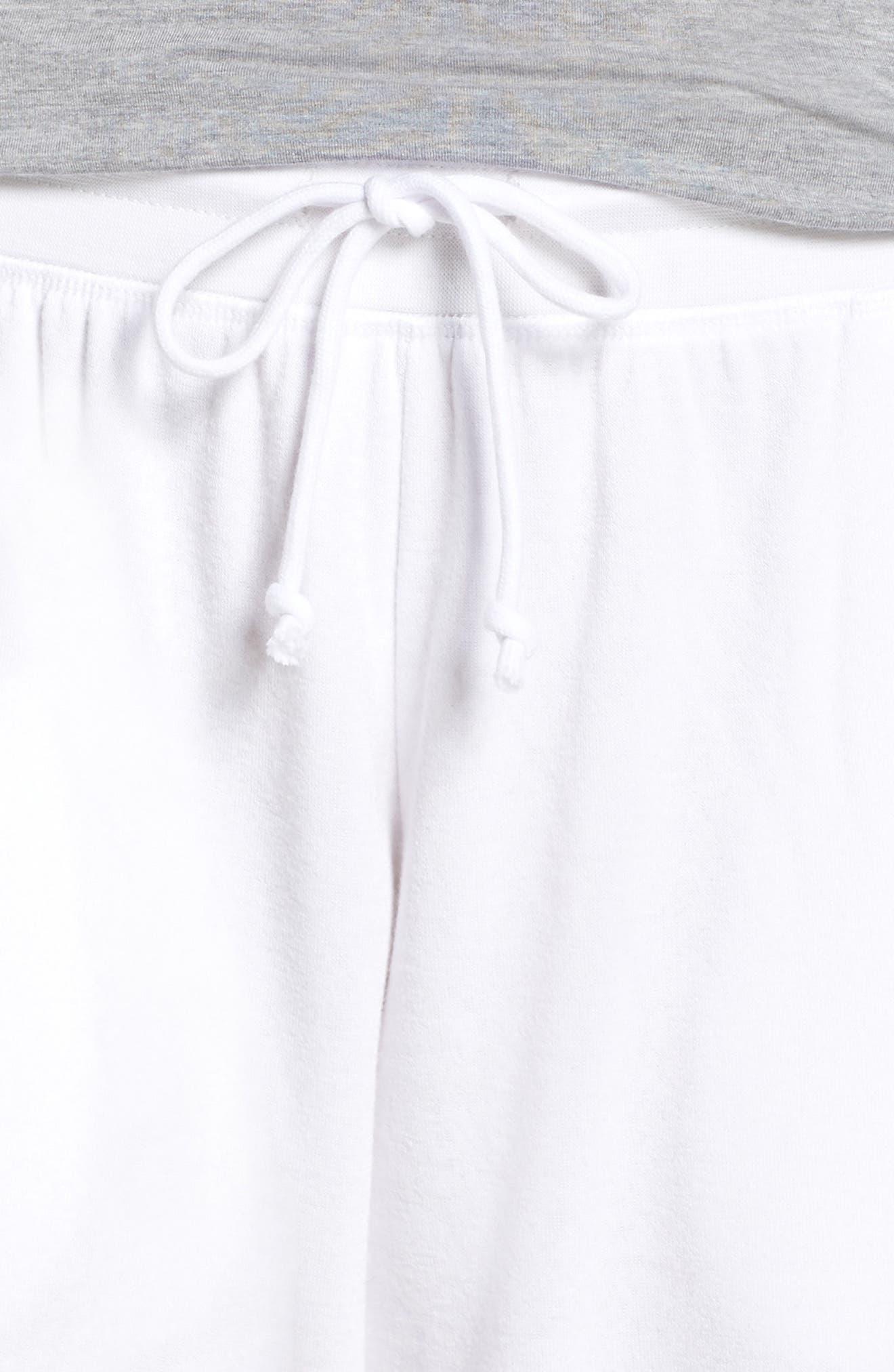 ,                             Cropped Fleece Pants,                             Alternate thumbnail 11, color,                             100