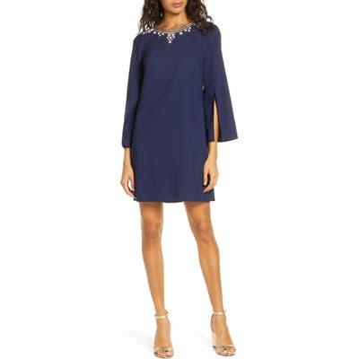 Lilly Pulitzer Anastasia Split Sleeve Shift Dress, Blue
