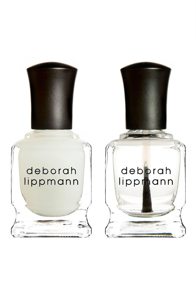 DEBORAH LIPPMANN 'Gel Lab' Mini Top & Base Coat Duo, Main, color, No Color