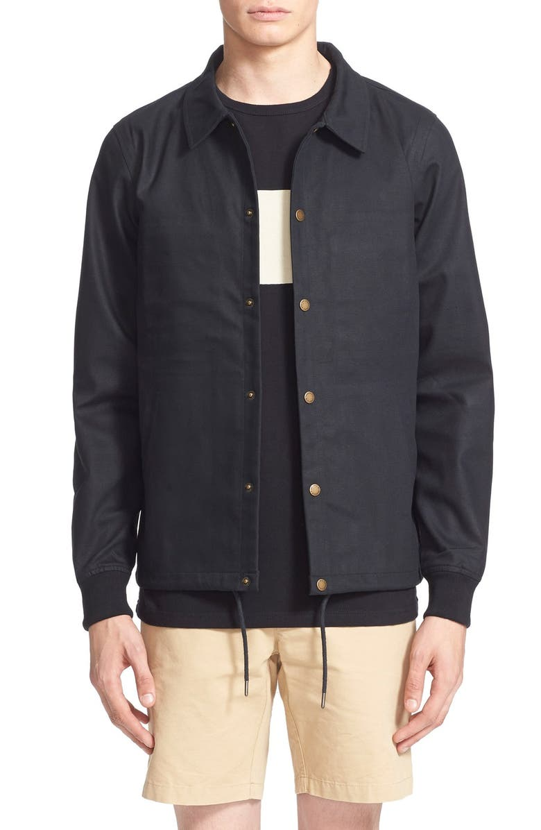 40a56f11df Saturdays NYC 'Cooper' Bonded Cotton Poplin Jacket | Nordstrom