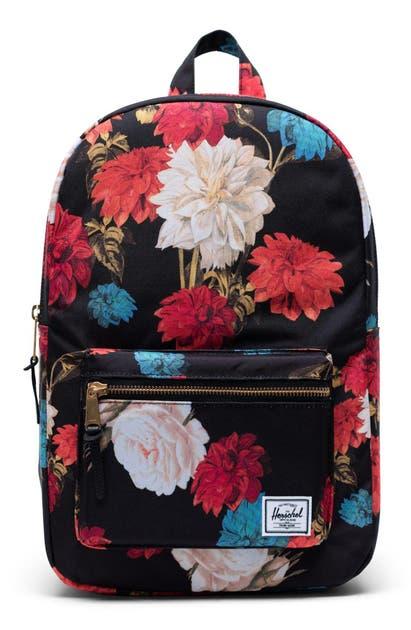 Herschel Supply Co. Backpacks 'SETTLEMENT MID VOLUME' BACKPACK - BLACK