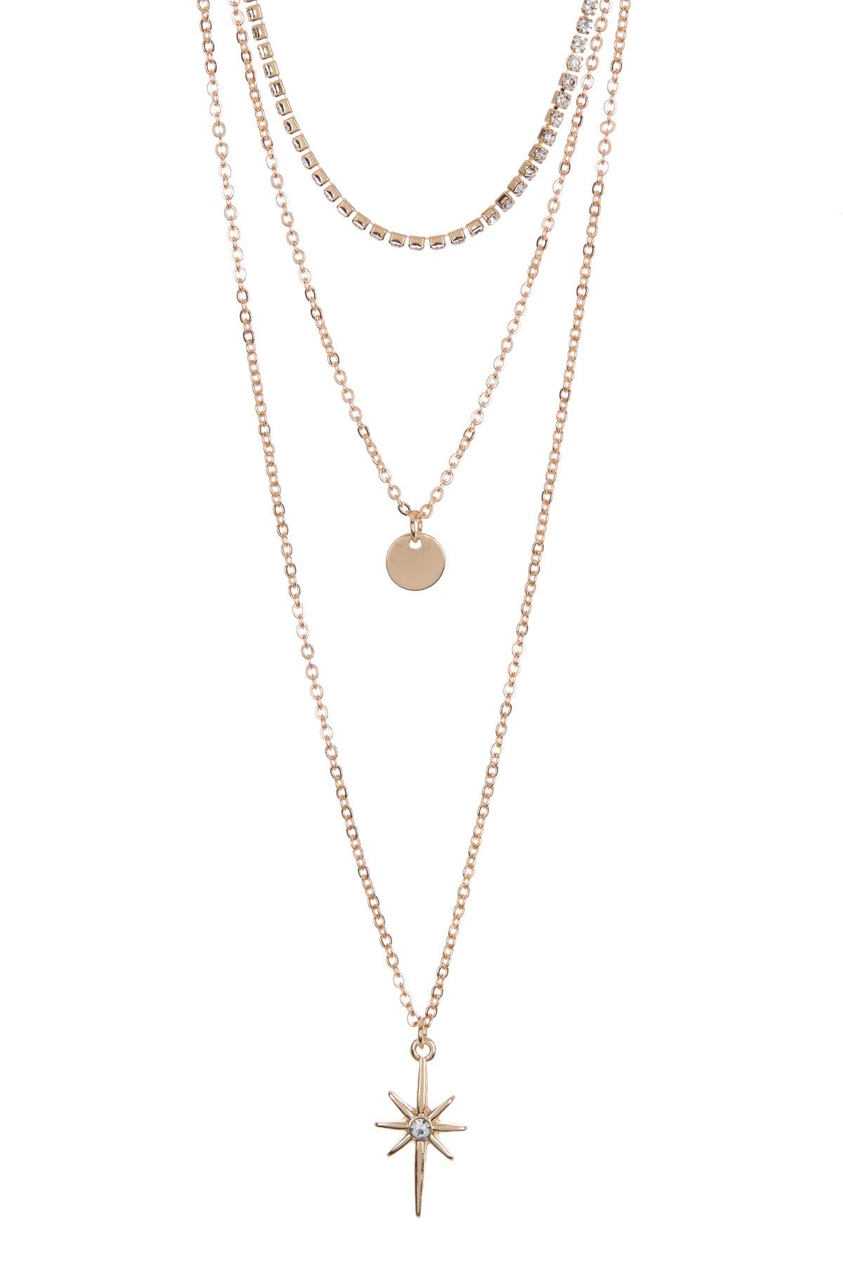 AREA STARS North Star Layered Necklace Set at Nordstrom Rack