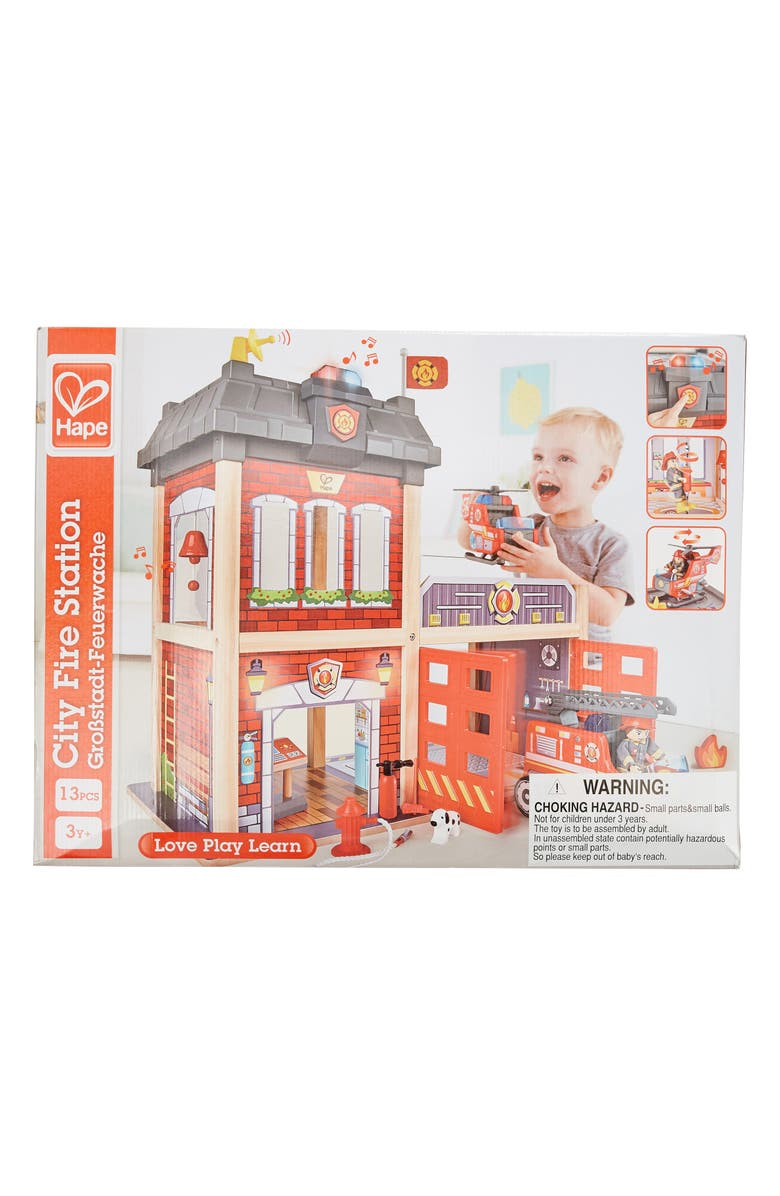 HAPE Fire Station, Main, color, RED