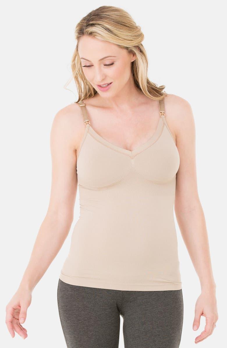 INGRID & ISABEL<SUP>®</SUP> Seamless Maternity/Nursing Tank, Main, color, 260