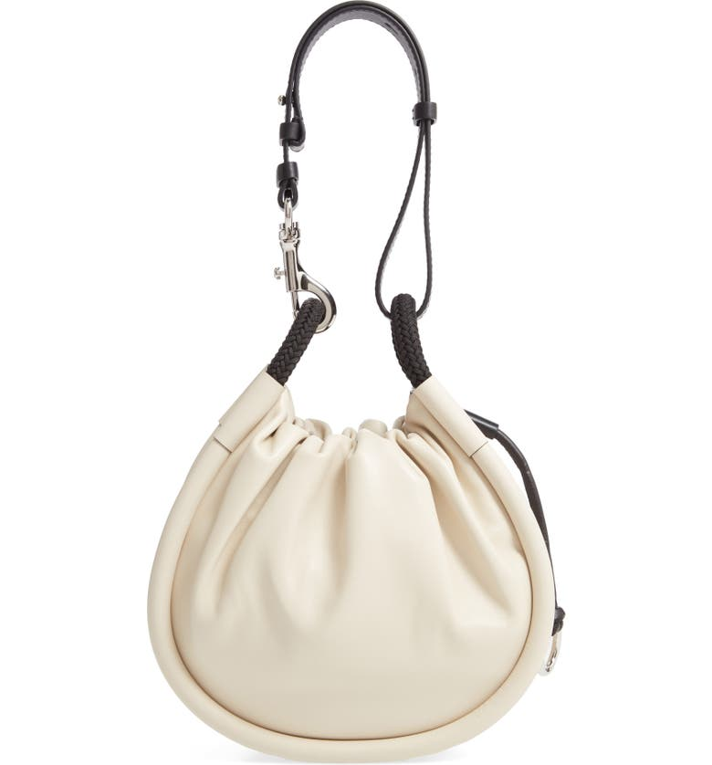 PROENZA SCHOULER Small Canteen Leather Shoulder Bag, Main, color, CLAY