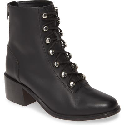 Free People Eberly Lace-Up Bootie, Black