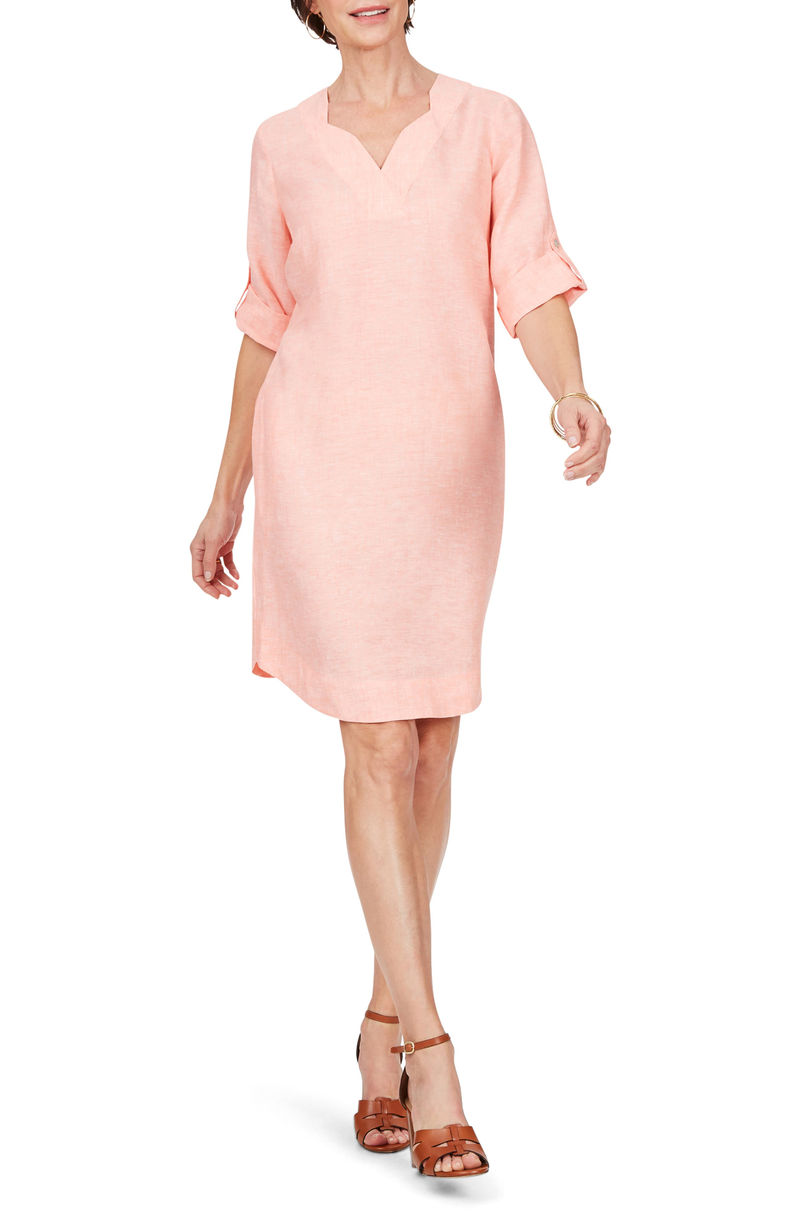 Harmony Linen Shift Dress