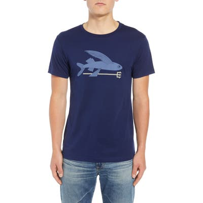 Patagonia Flying Fish Regular Fit Organic Cotton T-Shirt