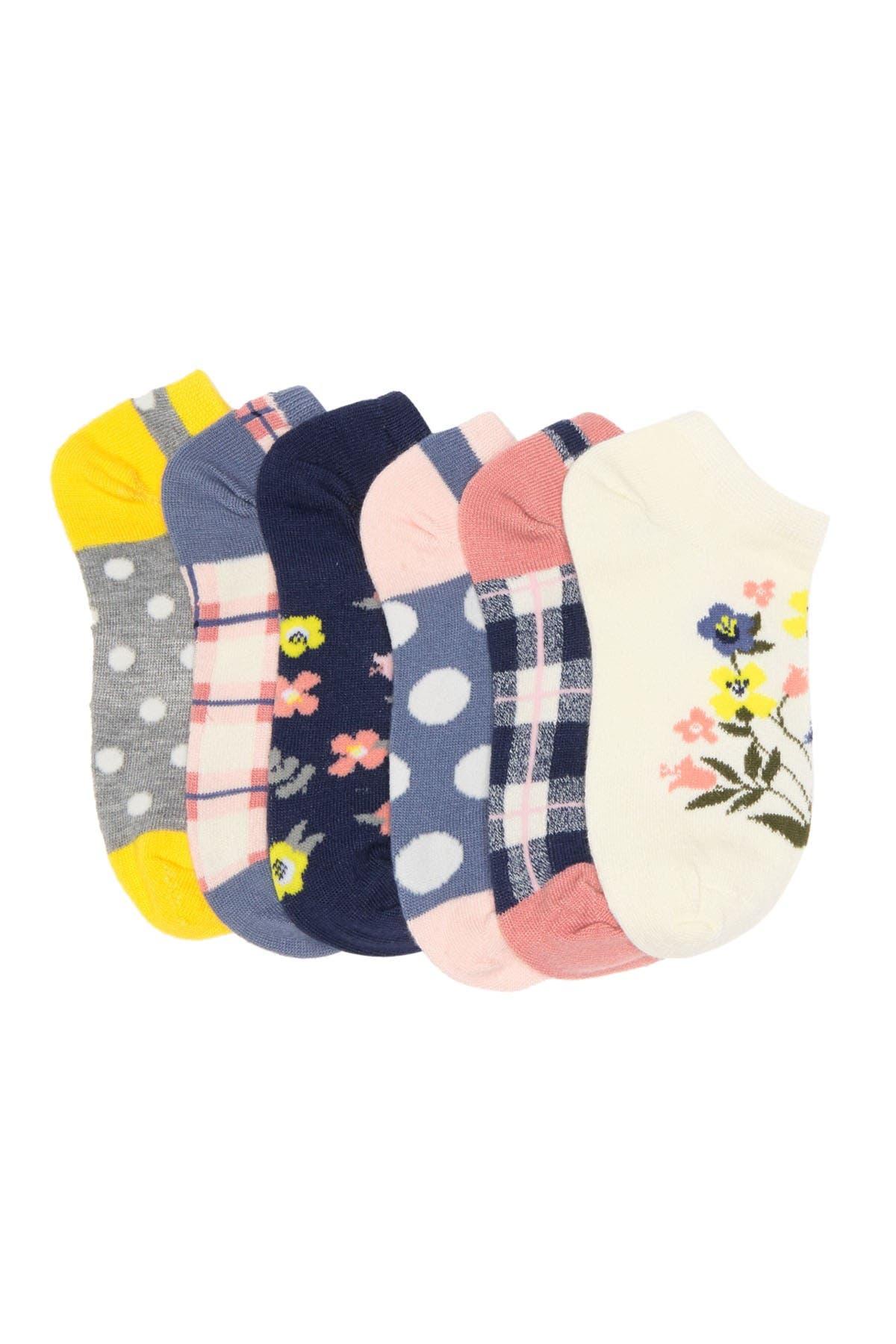 Image of Harper Canyon Printed Low Cut Socks - Pack of 6