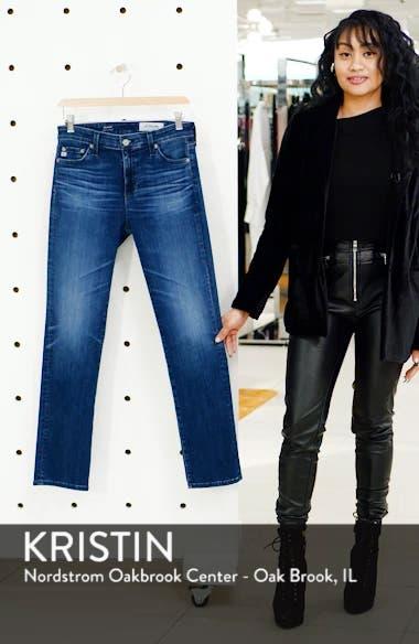 Mari High Waist Slim Straight Leg Jeans, sales video thumbnail