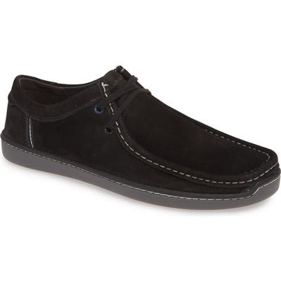 Hush Puppies Toby Moc Toe Derby, Black