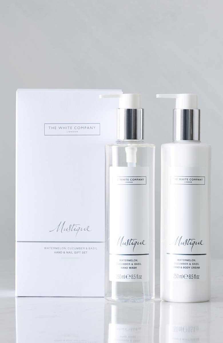 THE WHITE COMPANY Mustique Hand & Nail Set, Main, color, MUSTIQUE