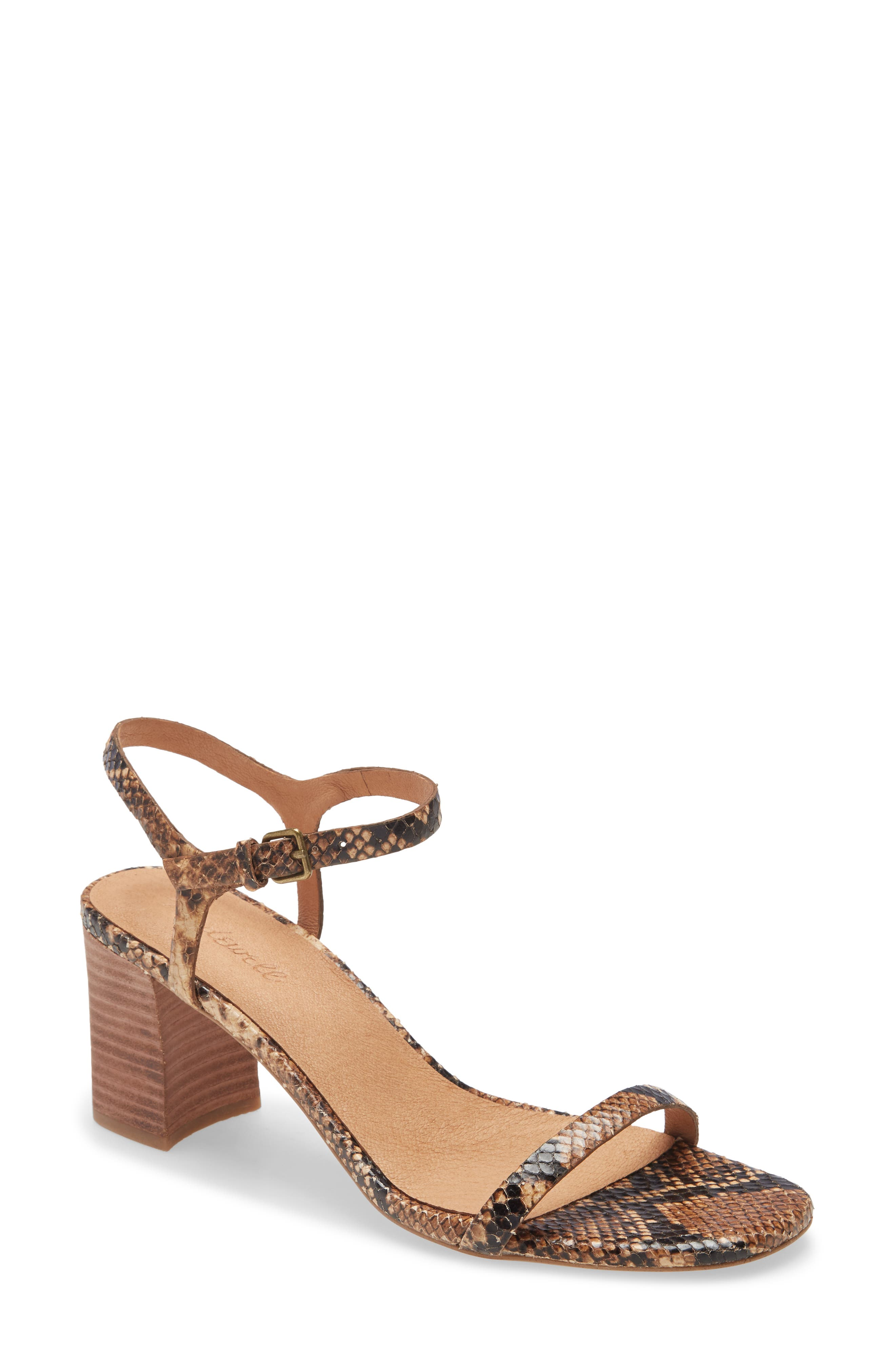 Image of Madewell The Hollie Ankle Strap Sandal