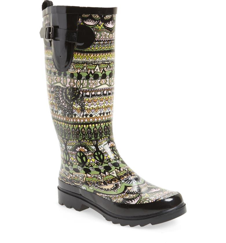 SAKROOTS Rhythm Waterproof Rain Boot, Main, color, 002