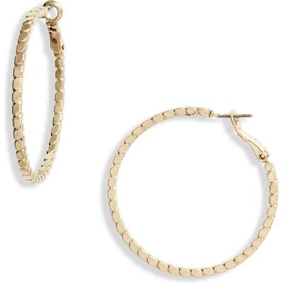 Ten79La Plait Hoop Earrings