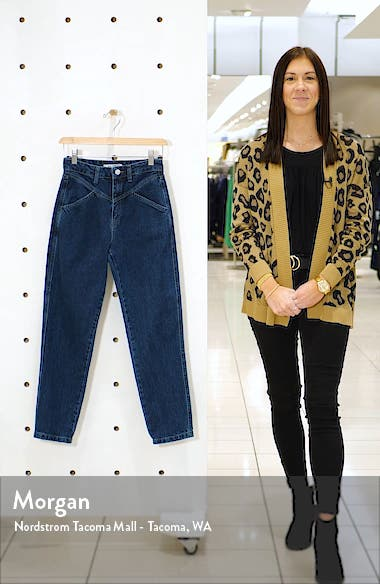 Yoke Detail Straight Leg Jeans, sales video thumbnail