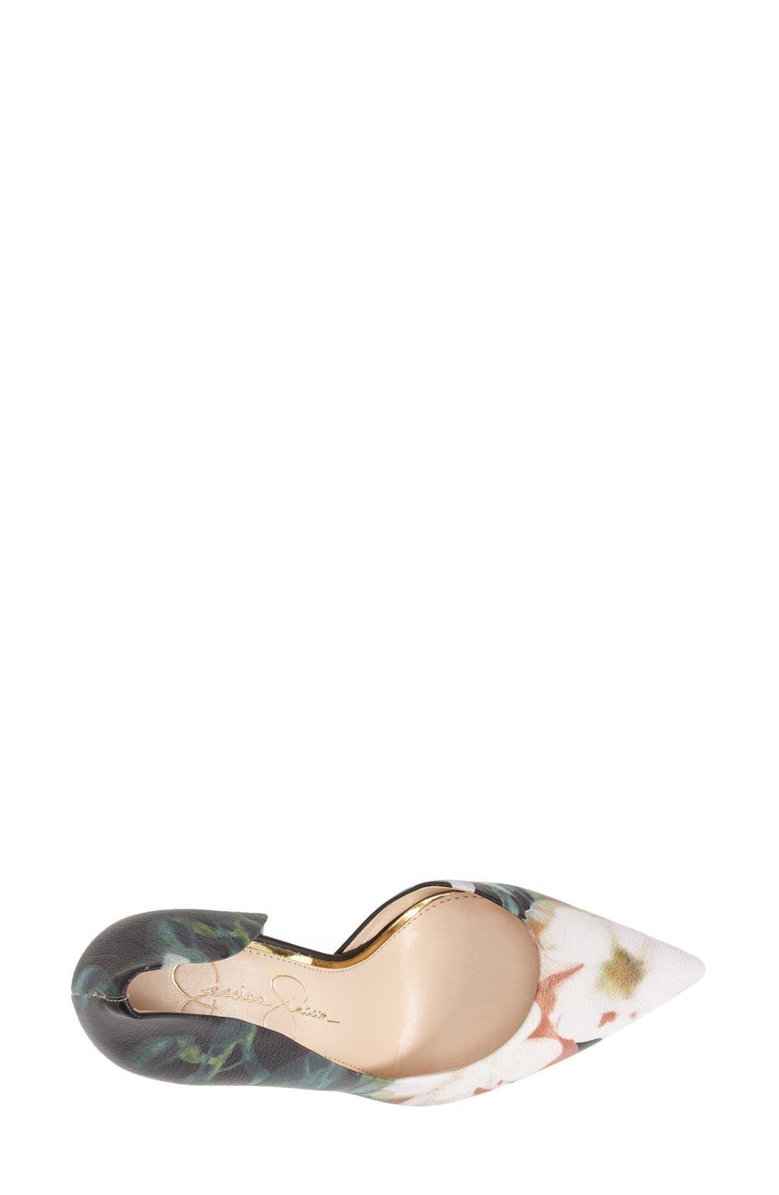,                             'Claudette' Half d'Orsay Pump,                             Alternate thumbnail 39, color,                             018
