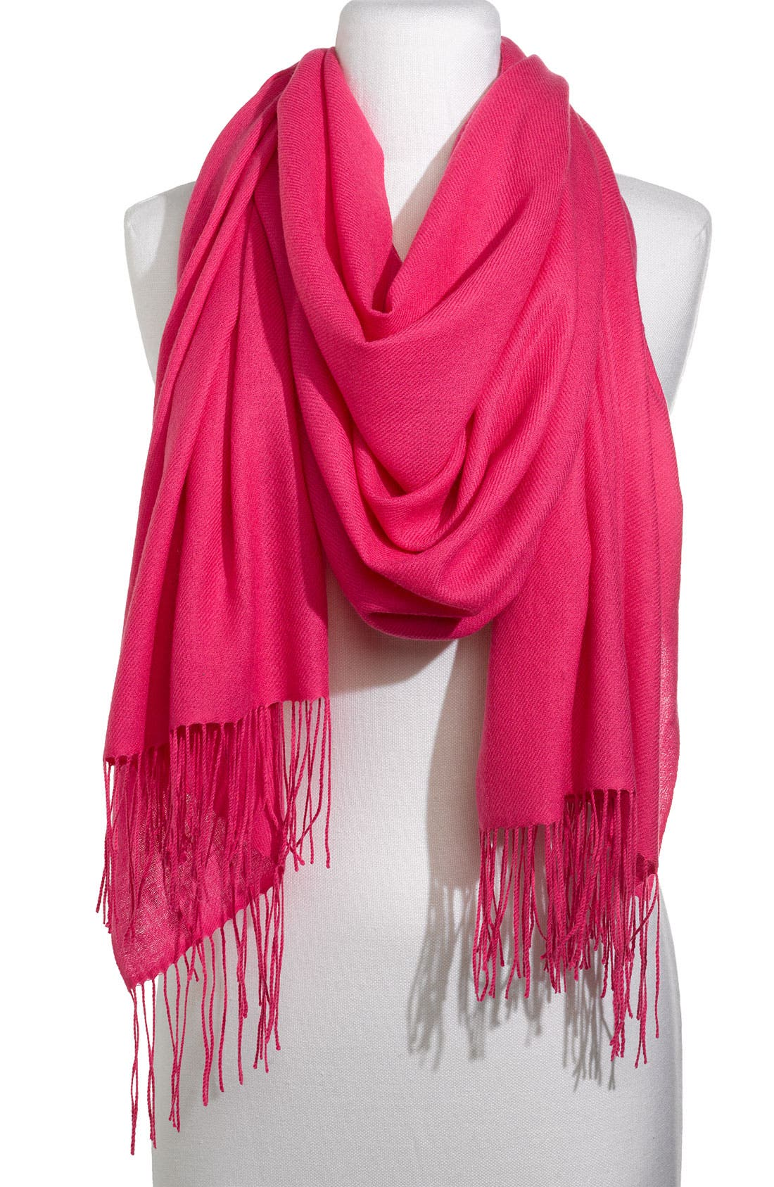 ,                             Tissue Weight Wool & Cashmere Wrap,                             Main thumbnail 174, color,                             651