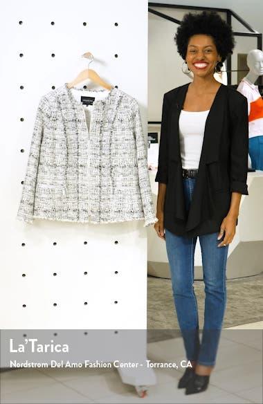 Noelle Tweed Jacket, sales video thumbnail