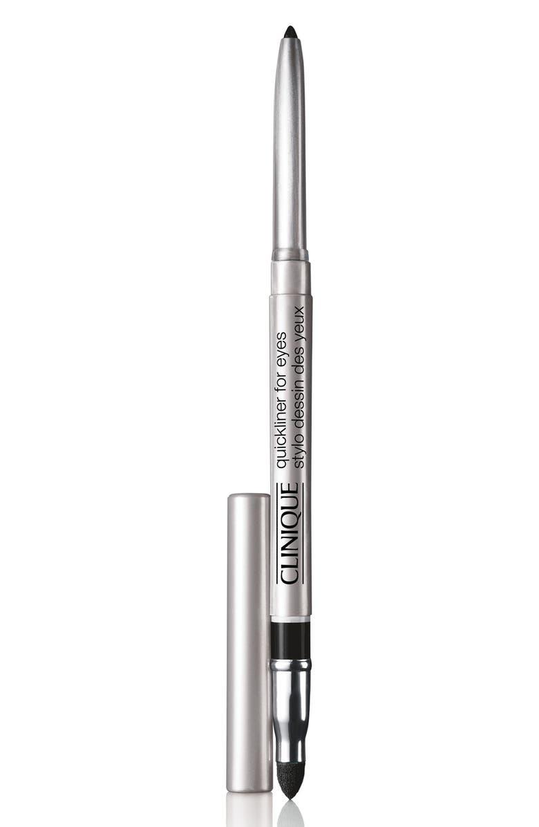 CLINIQUE Quickliner for Eyes Eyeliner Pencil, Main, color, REALLY BLACK