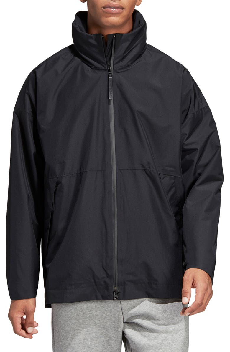 adidas Urban Climaproof® Waterproof Hooded Jacket | Nordstrom