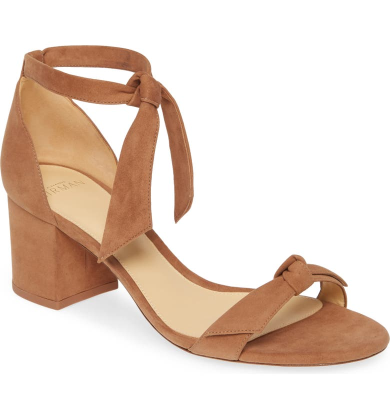 ALEXANDRE BIRMAN Clarita Block Sandal, Main, color, LIGHT BEIGE