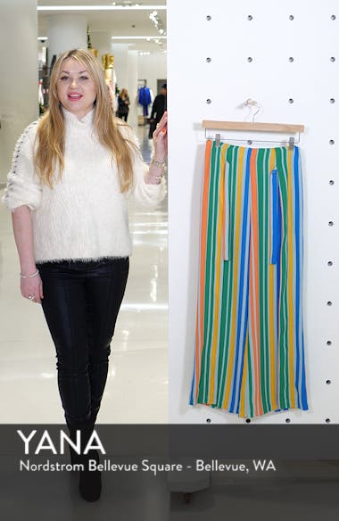 Tie Front Wide Leg Pants, sales video thumbnail
