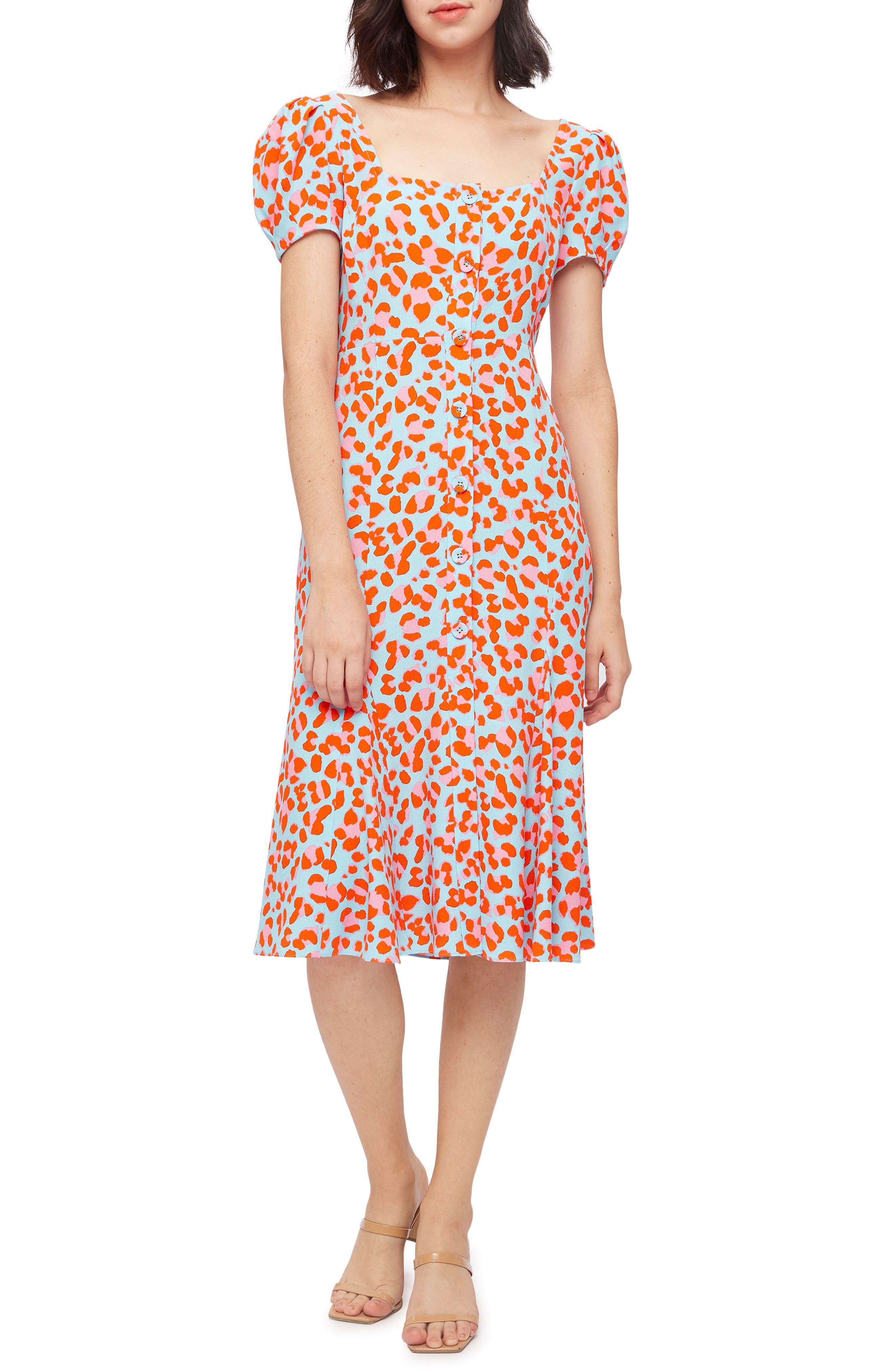 Elena Leopard Dress