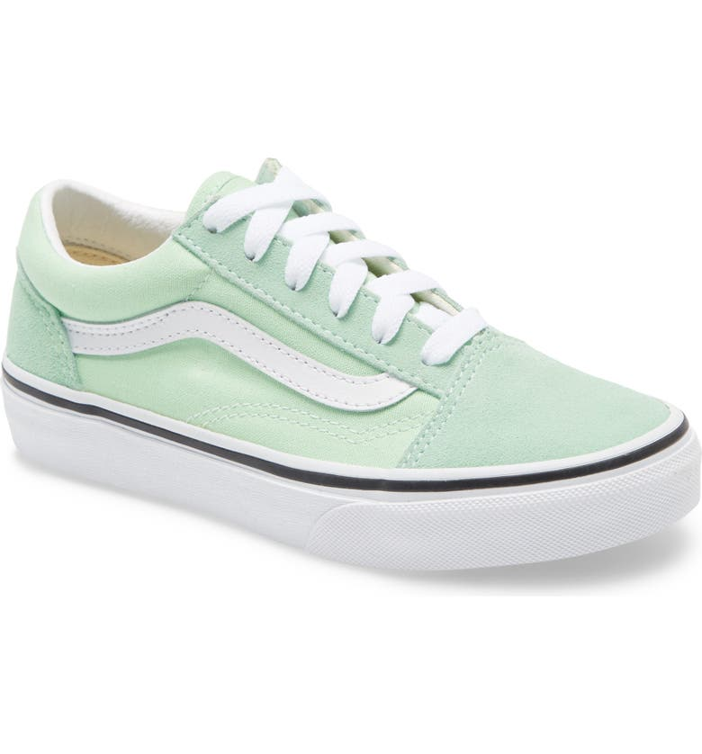 VANS 'Old Skool' Skate Sneaker, Main, color, GREEN ASH/ TRUE WHITE