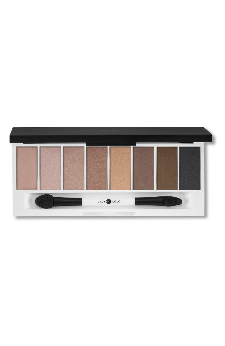 LILY LOLO Laid Bare Eyeshadow Palette, Main, color, NO COLOR
