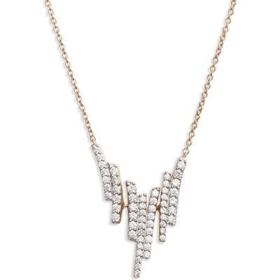 Nadri Ripple Cascade Pendant Necklace