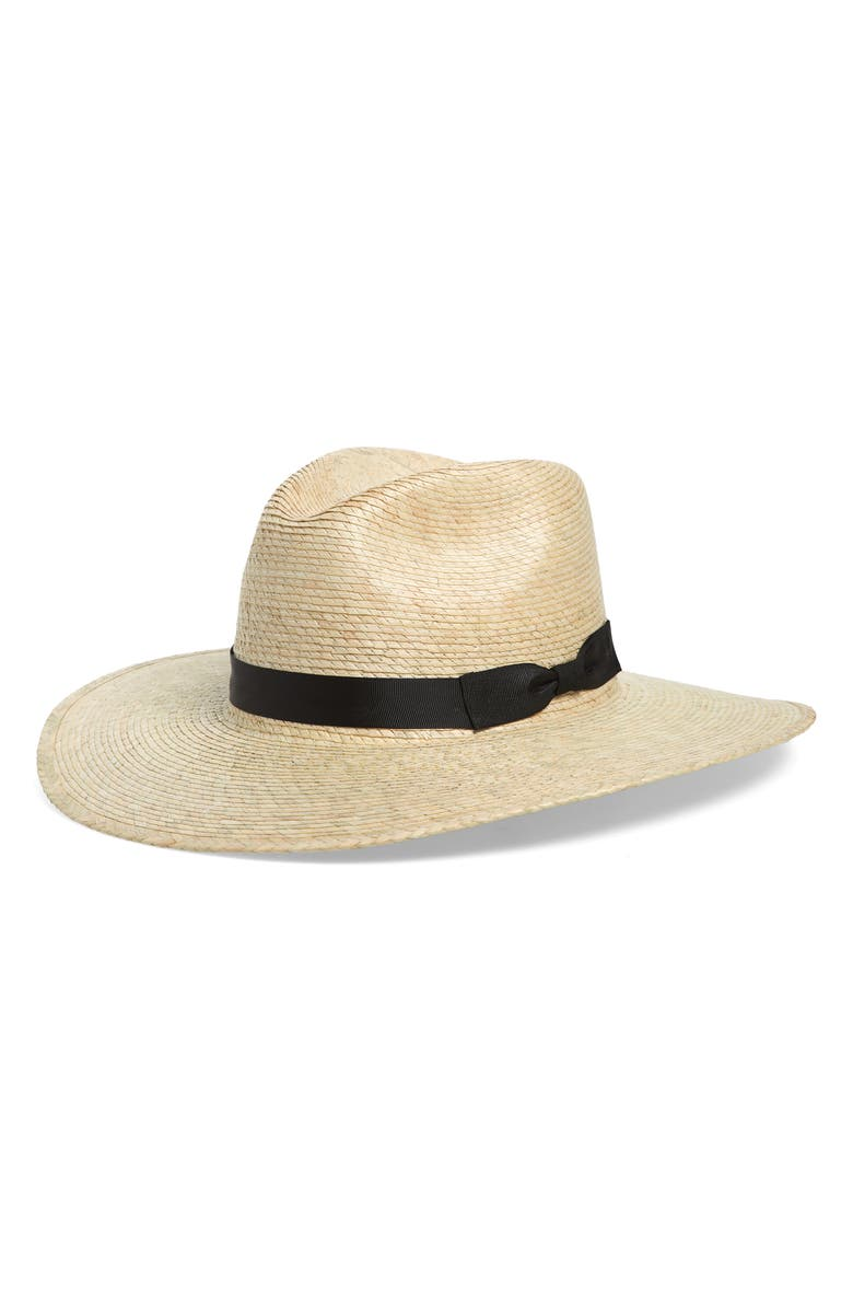 Woven Straw Panama Hat by Sole Society