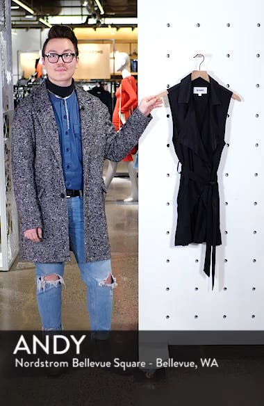 Wrap Star Belted Vest, sales video thumbnail