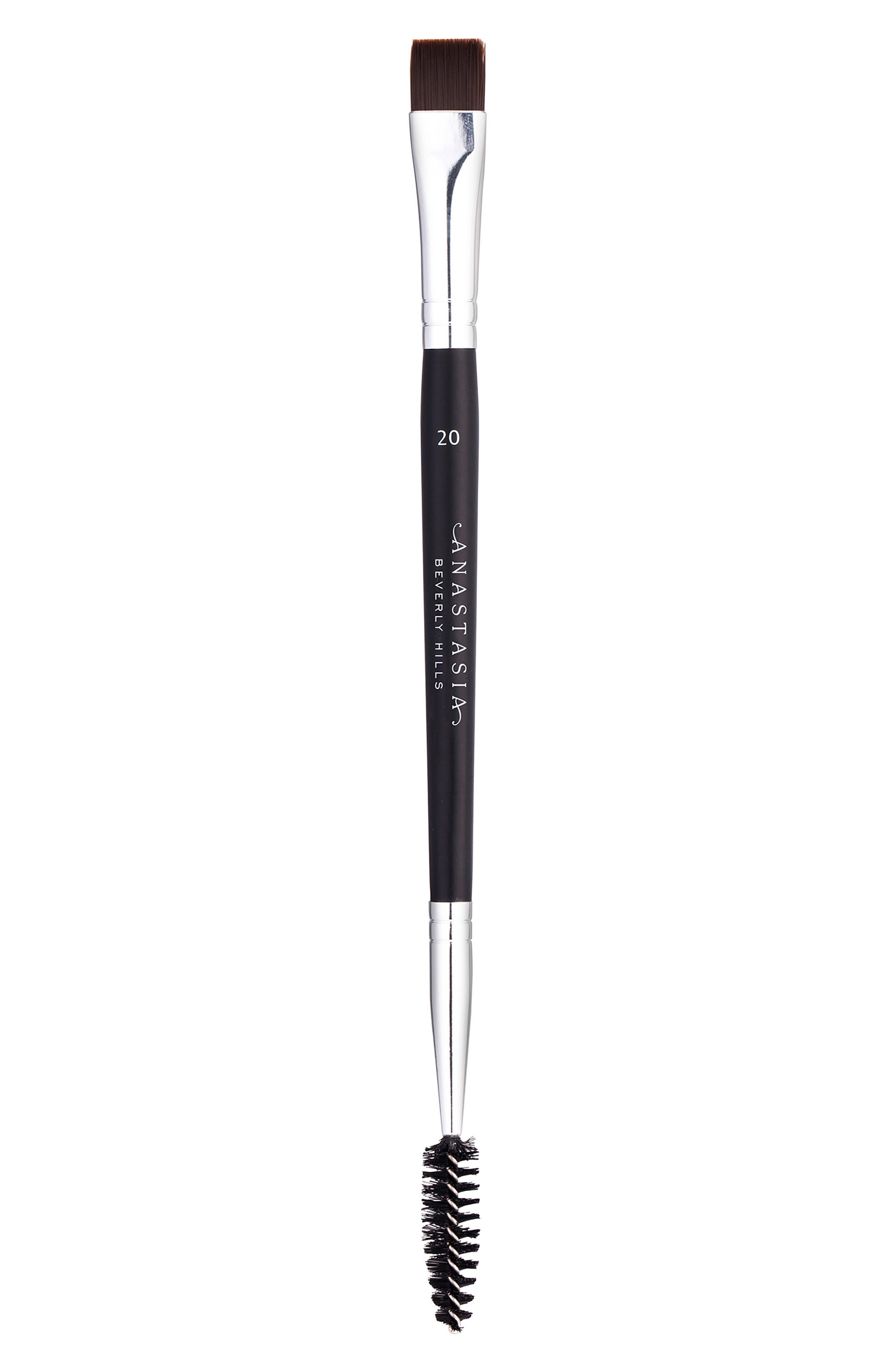 #20 Dual Ended Brow & Eyeliner Brush