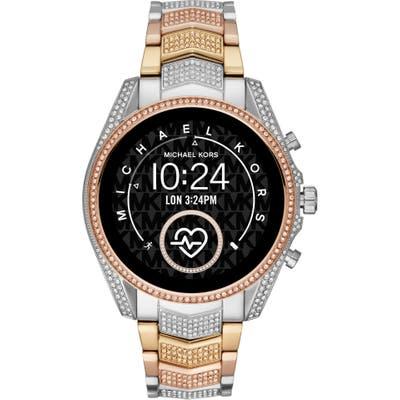 Michael Michael Kors Bradshaw 2 Pave Crystal Bracelet Smart Watch, 4m