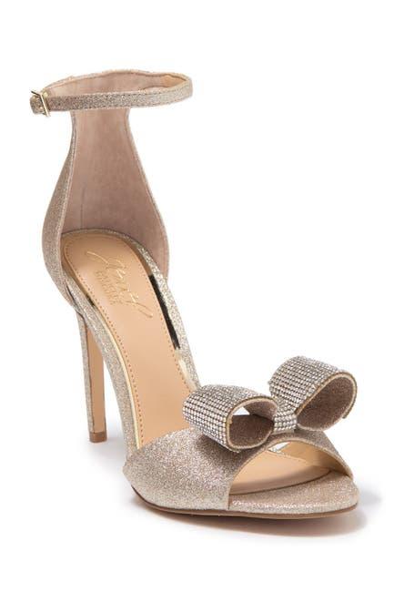 Image of Jewel Badgley Mischka Urania Embellished Evening Sandal