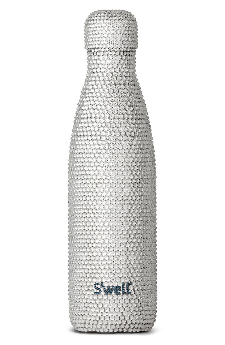 S'WELL Alina Swarovski Crystal Insulated Stainless Steel Water Bottle, Main, color, 040