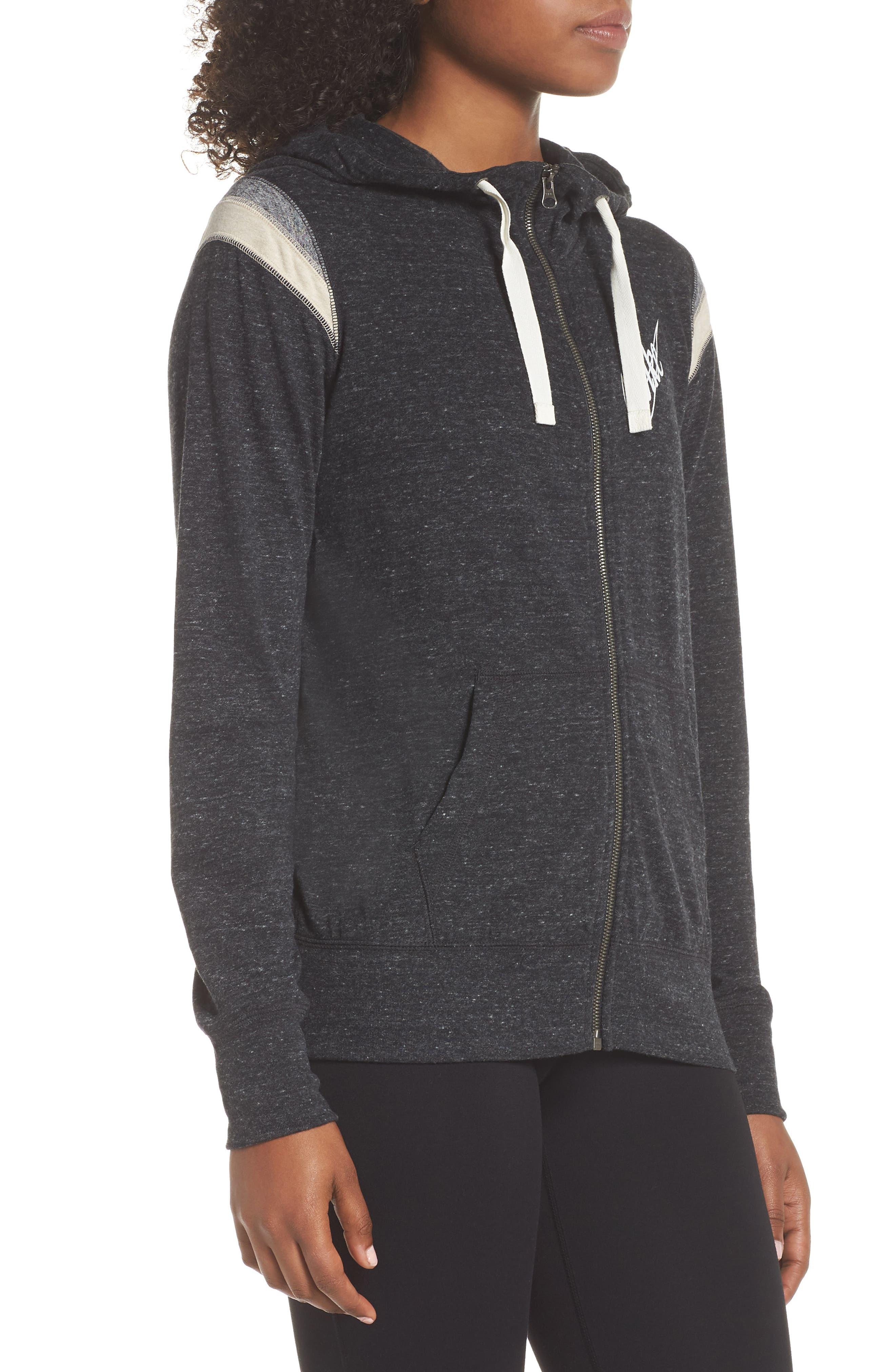 ,                             Sportswear Gym Vintage Zip Hoodie,                             Alternate thumbnail 17, color,                             010