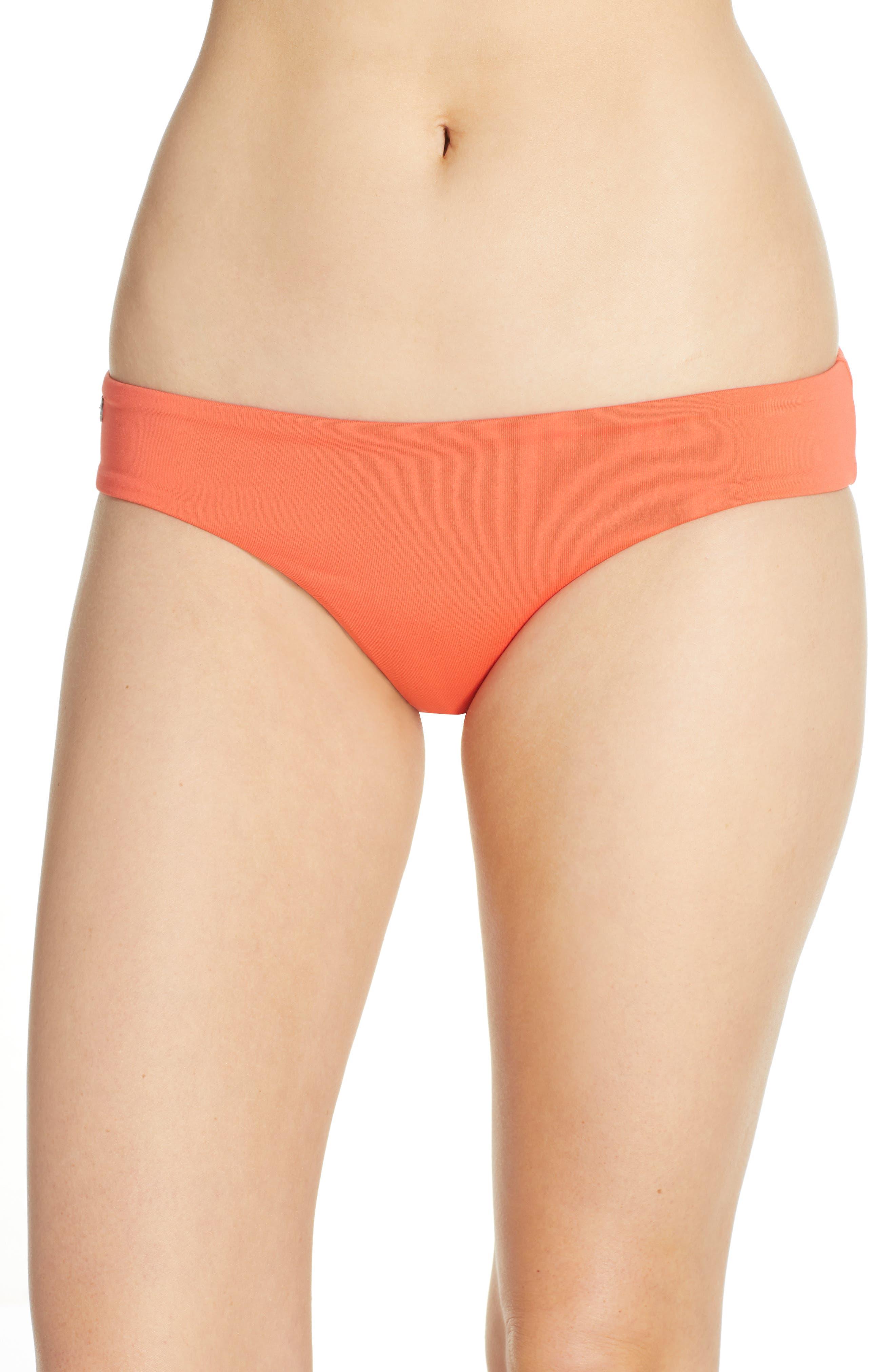 Maaji Mandarin Sublime Reversible Bikini Bottoms, Orange