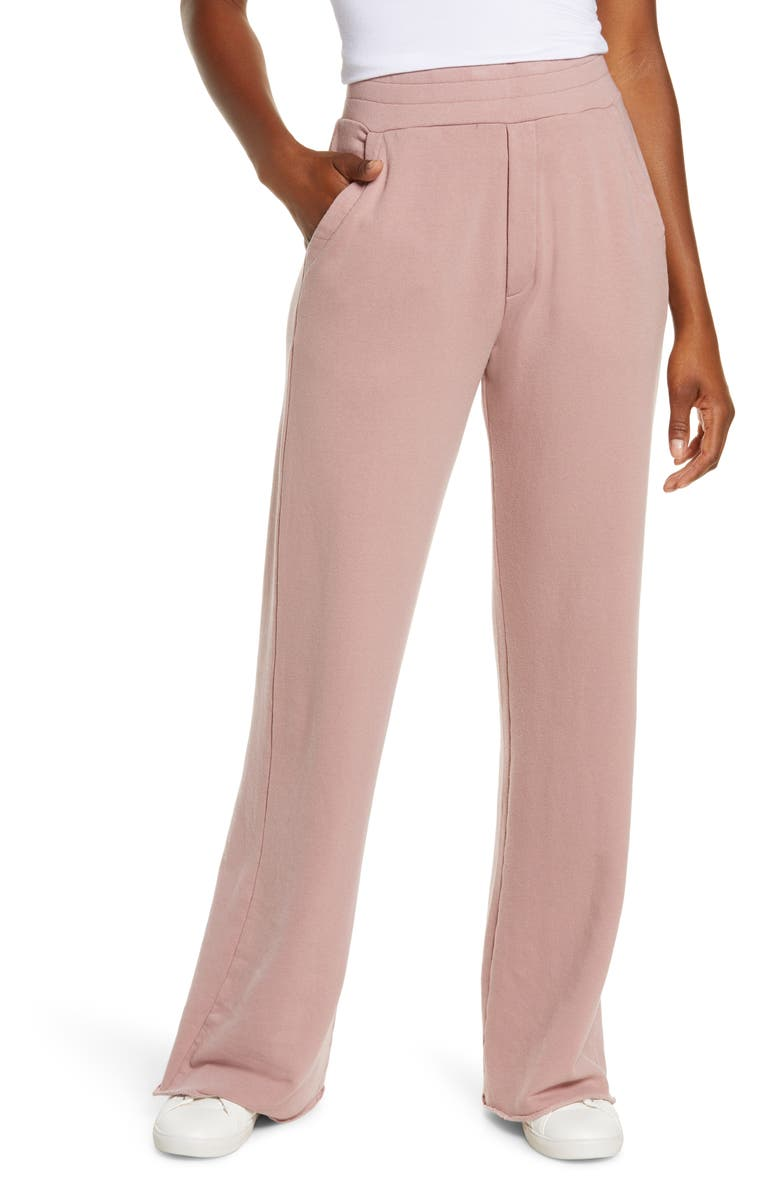 UGG<SUP>®</SUP> Gabi Wide Leg Lounge Pants, Main, color, DUSTY ROSE