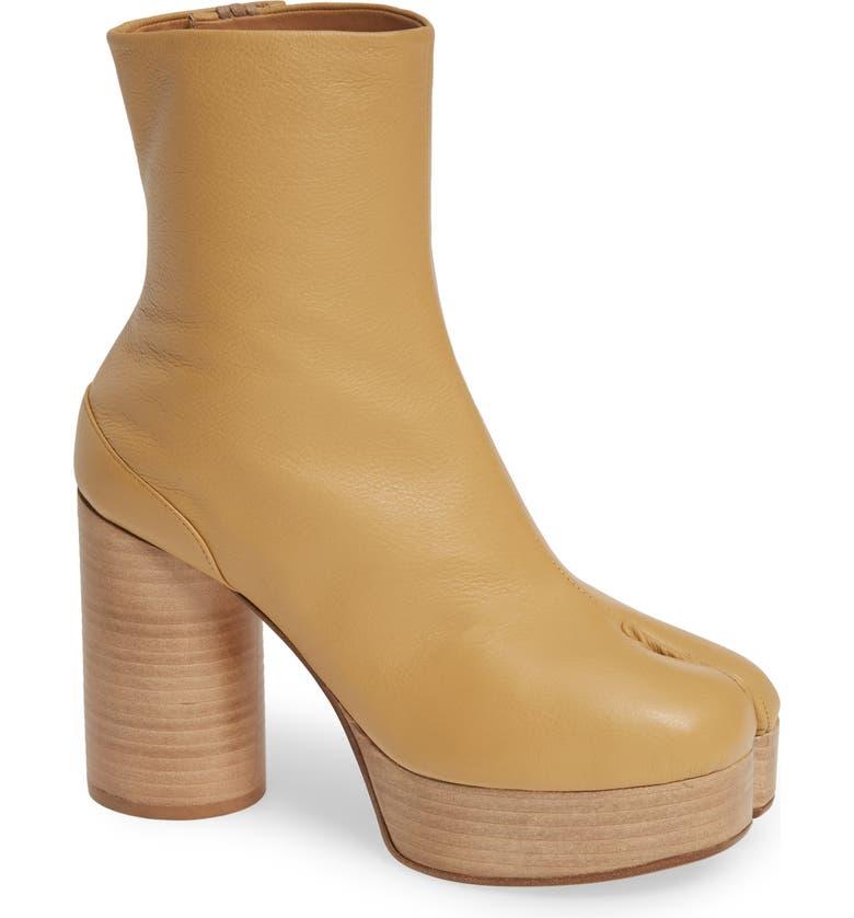 MAISON MARGIELA Tabi Platform Boot, Main, color, 250