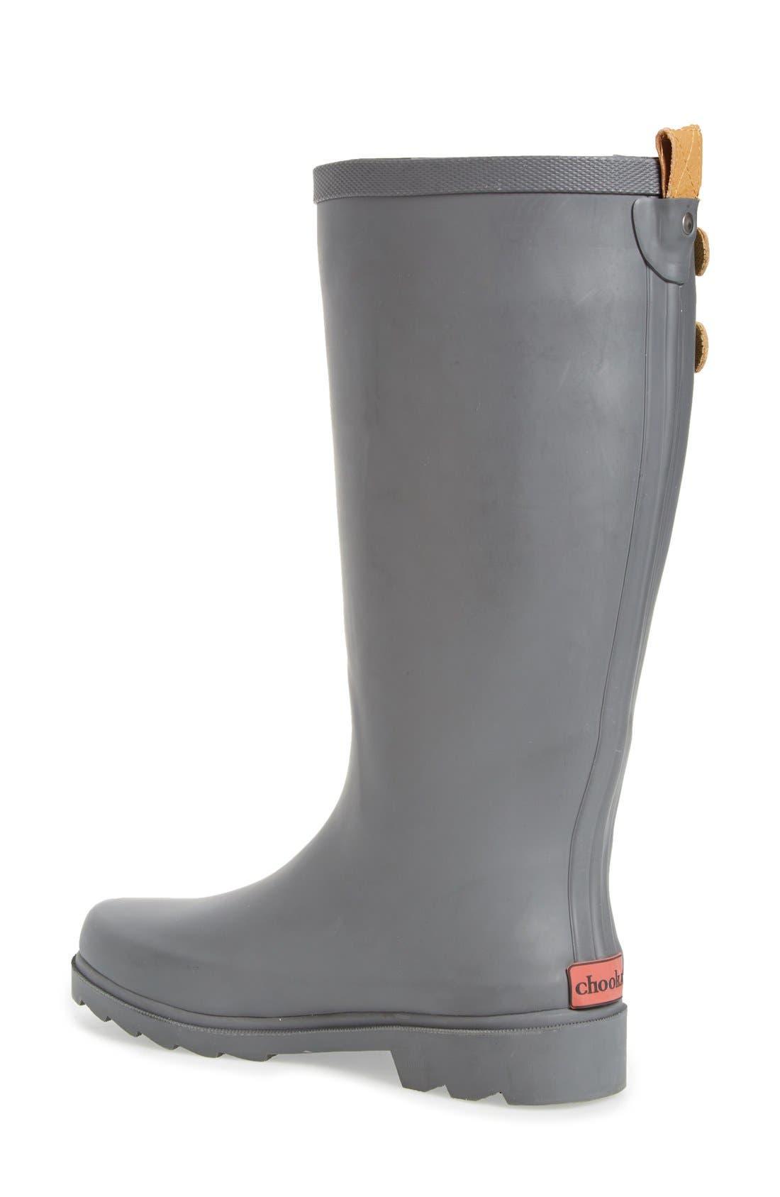 ,                             'Top Solid' Rain Boot,                             Alternate thumbnail 14, color,                             020