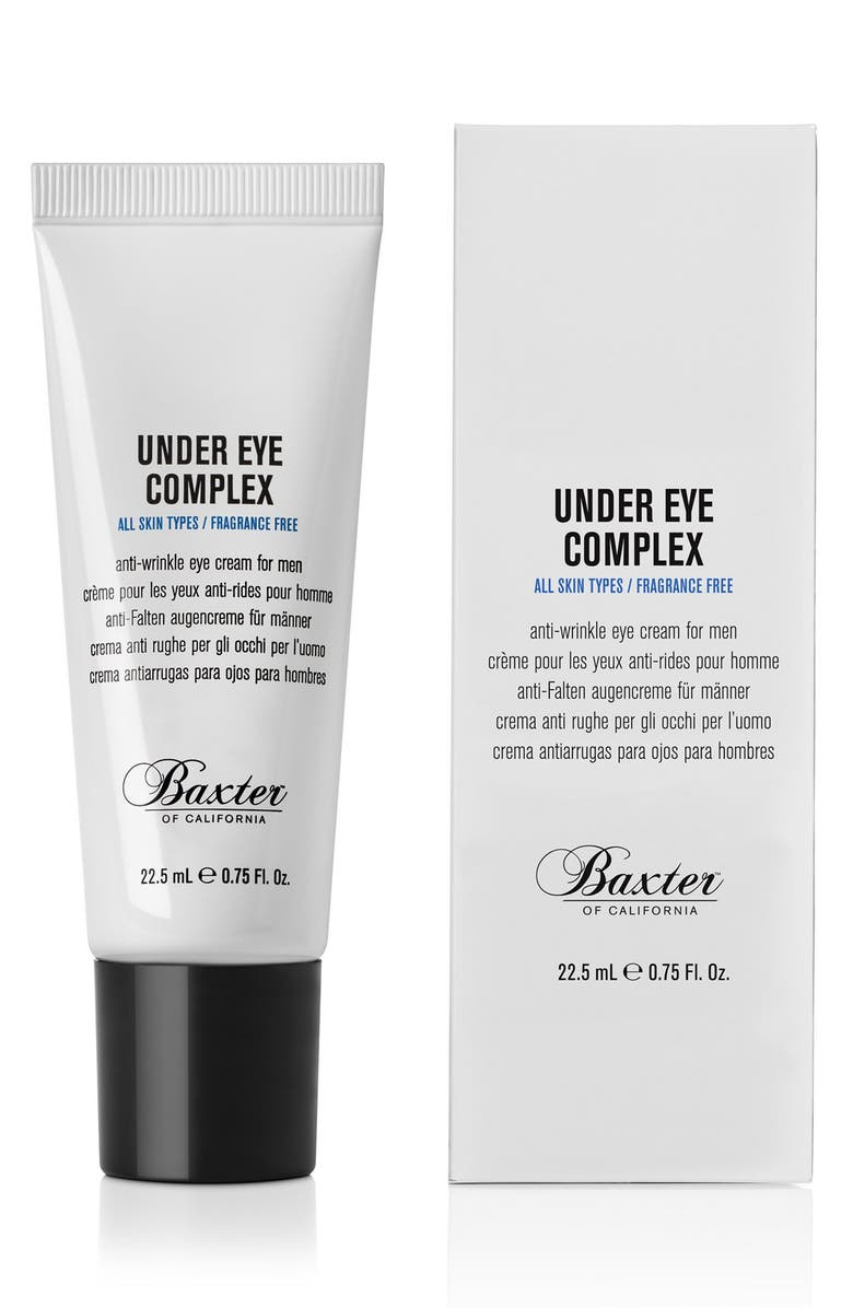 BAXTER OF CALIFORNIA 'Under Eye Complex' Anti-Wrinkle Eye Cream, Main, color, NO COLOR