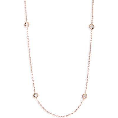 Roberto Coin 5-Station Diamond Necklace