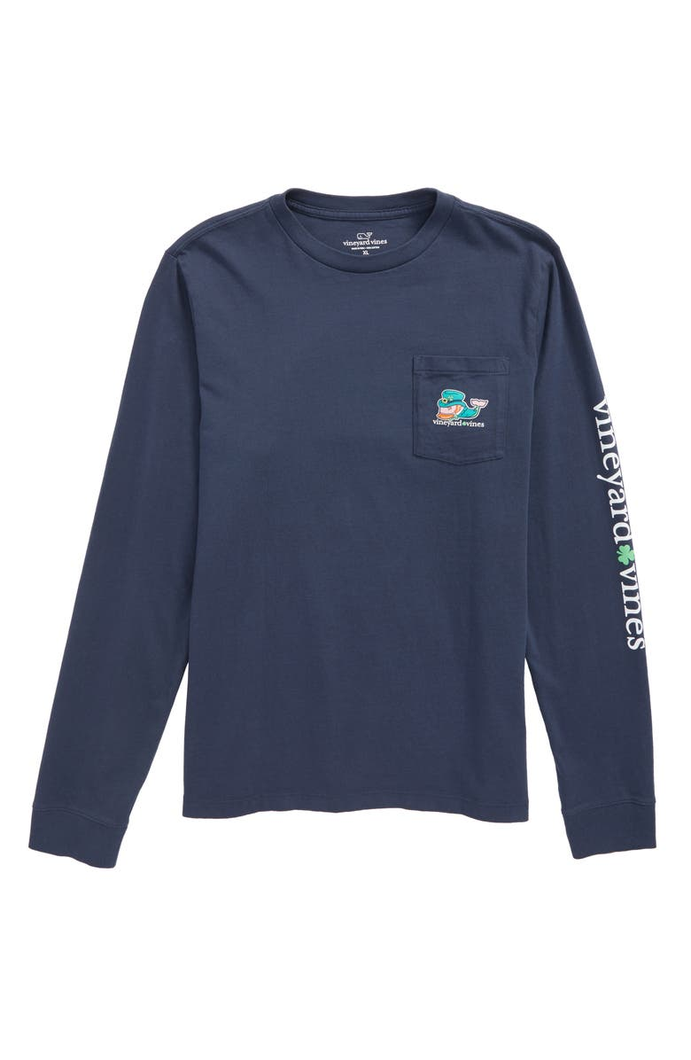 e44a2477d vineyard vines St. Paddy's Day Graphic Whale T-Shirt (Toddler Boys ...