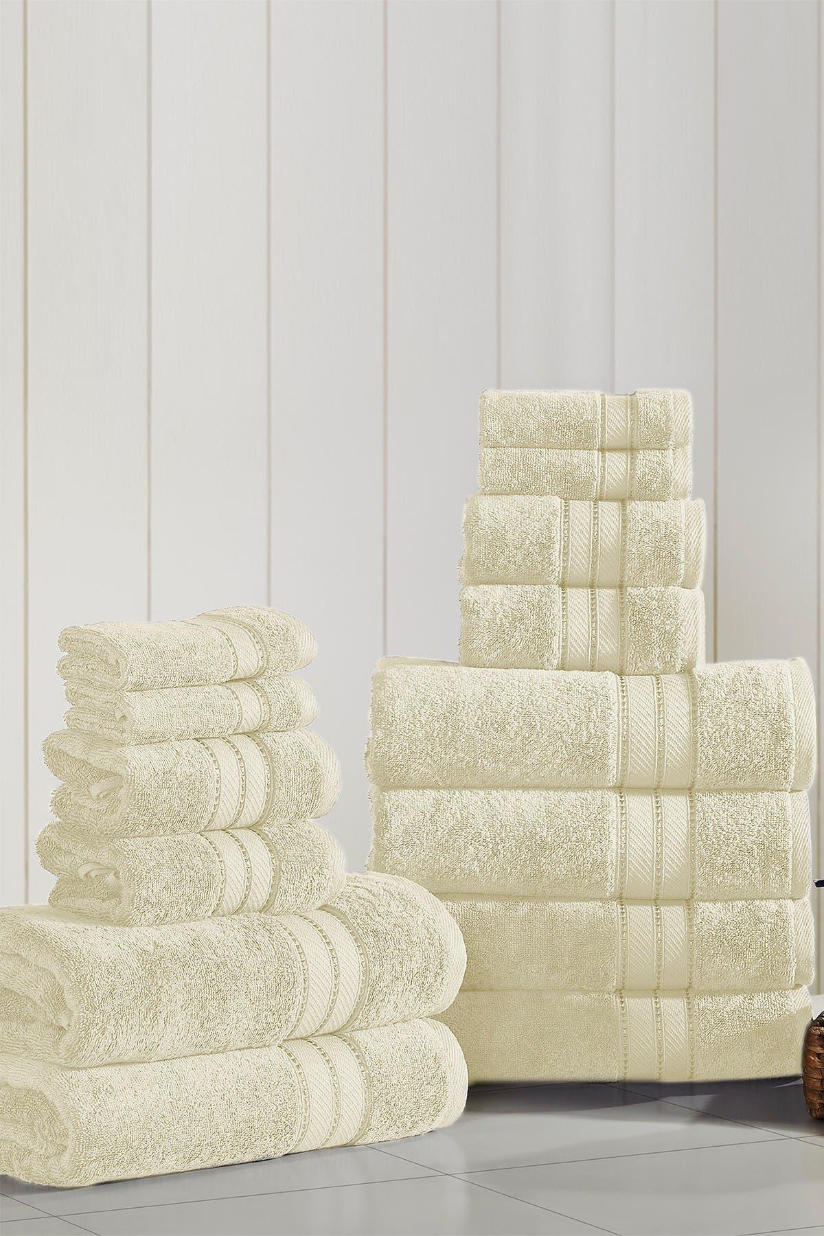 Image of Modern Threads SpunLoft 18-Piece Towel Set - Sand