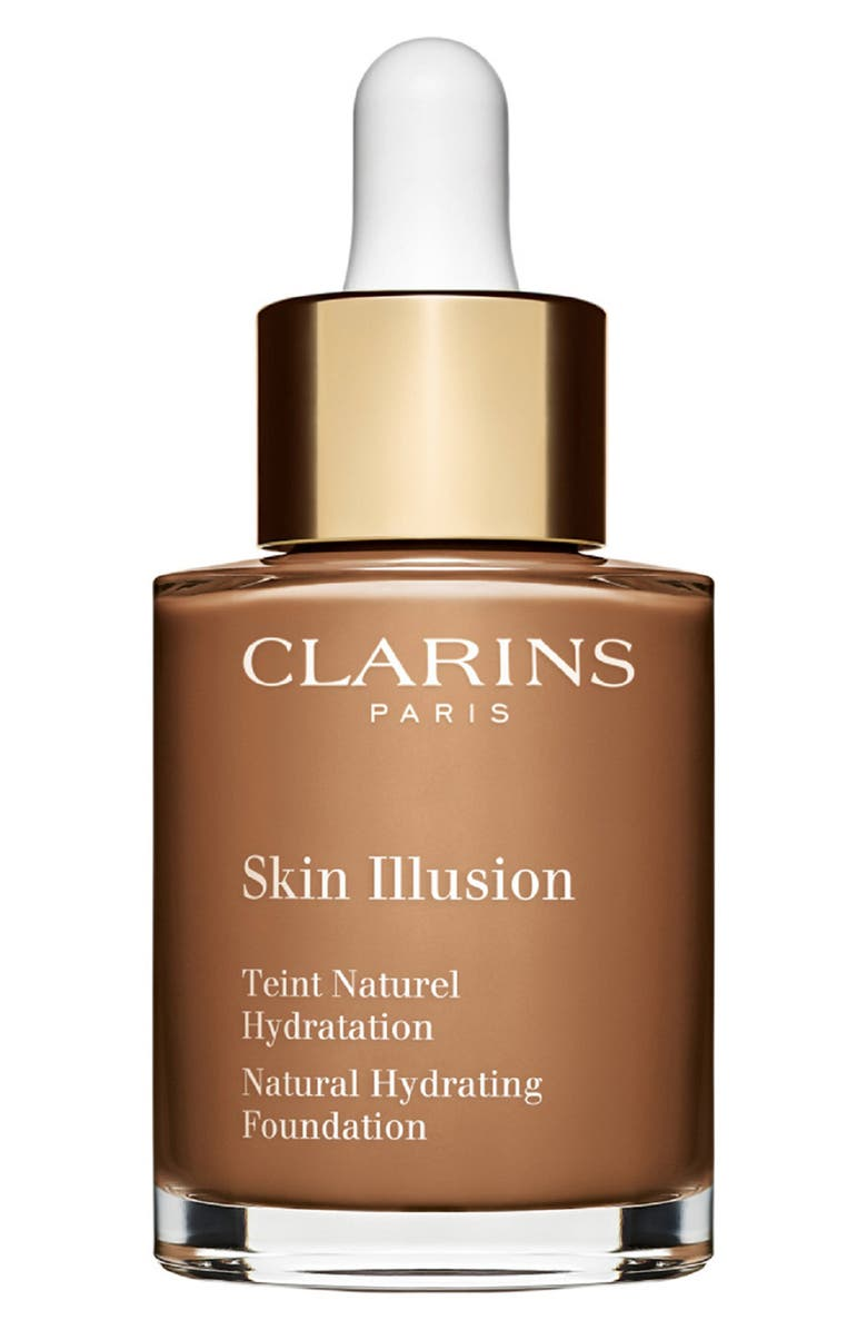 CLARINS Skin Illusion Natural Hydrating Foundation, Main, color, 115 - COGNAC