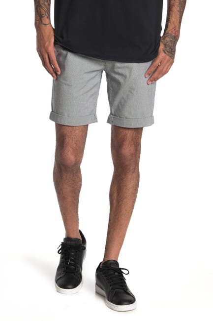 Image of Selected Homme Paris Regular Fit Straight Leg Shorts