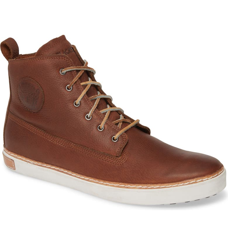 BLACKSTONE 'AM02' Sneaker, Main, color, OLD YELLOW LEATHER