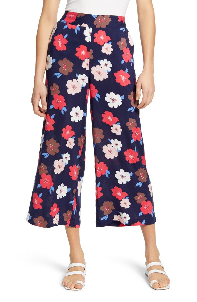 GIBSONLOOK Gibson x International Women's Day The Mom In Style Wide Leg Crop Pants, Main, color, 410